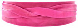 Ada Wrap Belt - Fuchsia