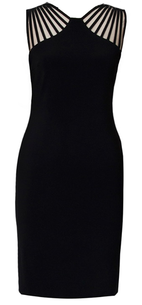 Joseph Ribkoff Strappy Shoulder Dress