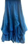 Luna Luz Garment Dyed Popcorn Skirt with Interior Ties