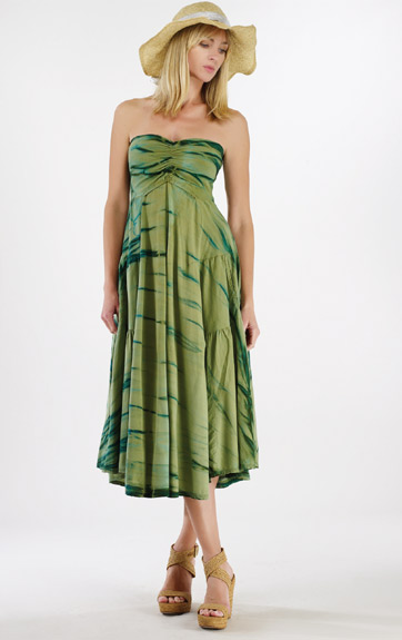 Luna Luz Rain Forest Skirt Dress