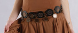 Luna Luz Coin Belt
