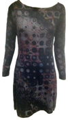 Nally & Mille Circles within Squares Dress
