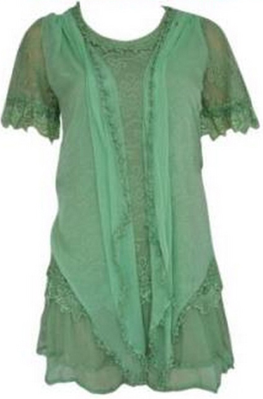 Pretty Angel Chiffon Top