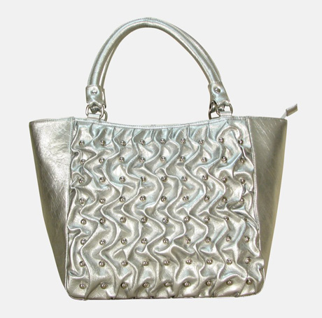 Sophisticated Style Studded Tote
