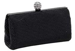 Whiting and Davis Crystal Ball Clutch