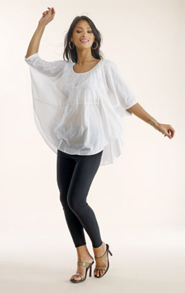 Luna Luz Garment Dyed Poncho and Leggings