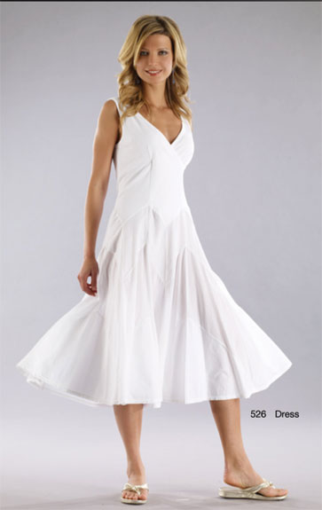 Luna Luz Garment Dyed Tank Dress with Crossover Bodice